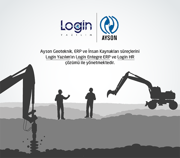 Login Software, the Choice of Ayson Geoteknik in ERP and HR