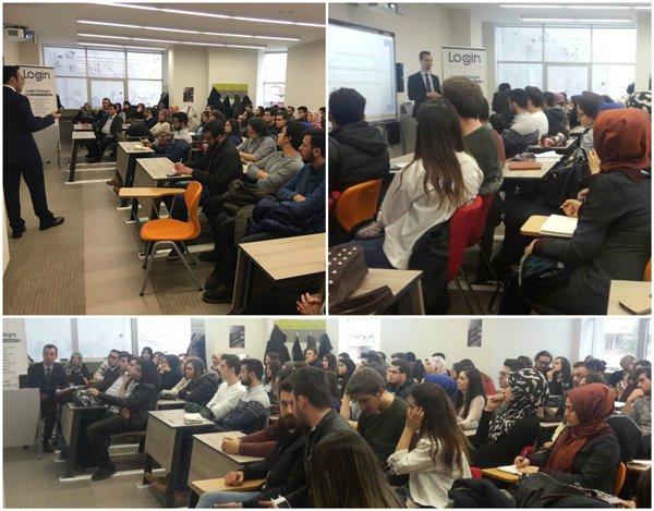 Login Yazılım İstanbul Üsküdar Üniversitesi'nde Endüstri Mühendisleri ile Buluştu