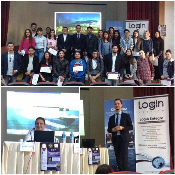 Login Yazılım Toros Üniversitesi'nde Endüstri Mühendisleri ile Buluştu