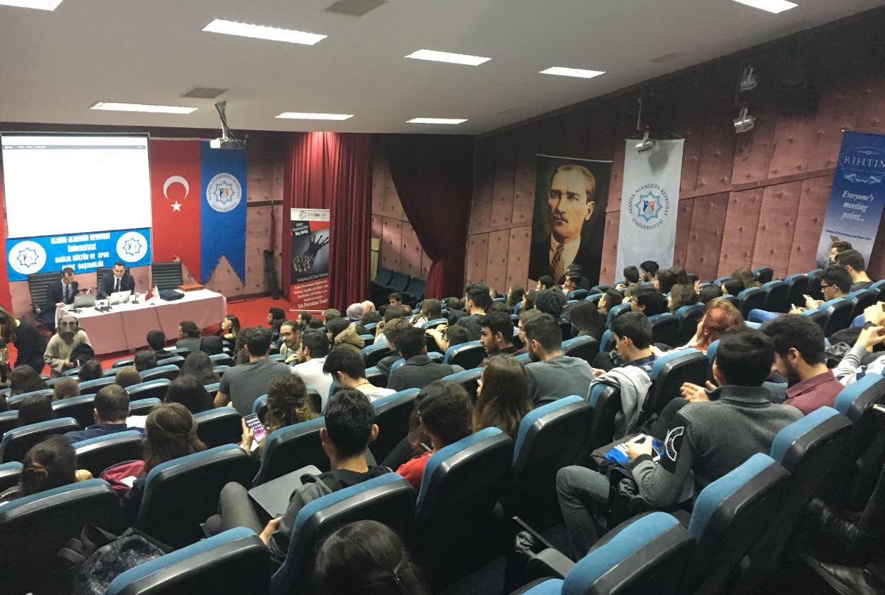 En-ERP 15 has been Launched at The Alanya Alaaddin Keykubat University