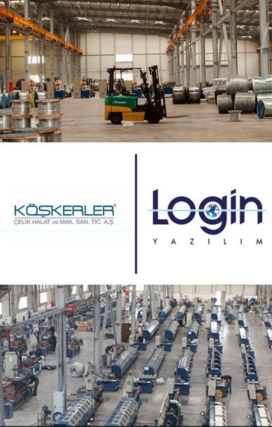 Köşkerler Çelik Halat A.Ş. Tüm İş Süreçlerini Login ERP İle Yönetme Kararı Aldı