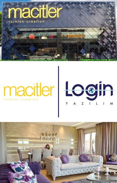 Macitler Mobilya has also Preferred Login ERP