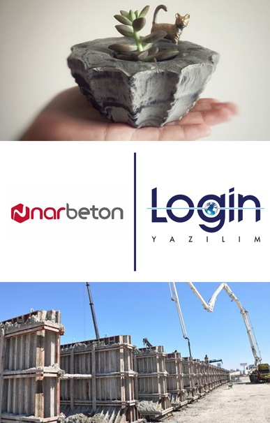 Nar Beton A.Ş. Decides to Manage All Business Processes by Login ERP