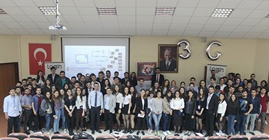 Istanbul University students has Met with Login Software