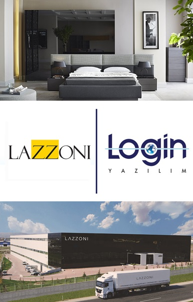 Lazzoni Mobilya Keeps its Business Processes Under Control with Login ERP