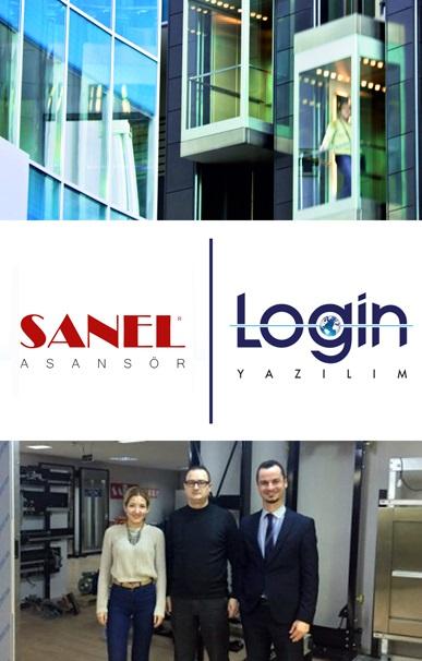Sanel Asansör İş Süreçlerinin Yönetimi için Login Yazılım'ı Seçti
