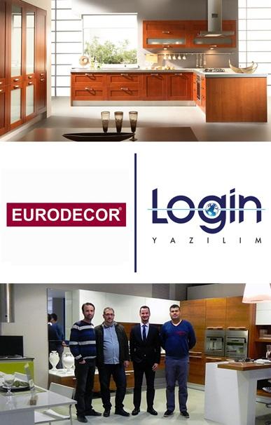 Eurodecor İş Süreçlerini Login ERP ile Yönetiyor