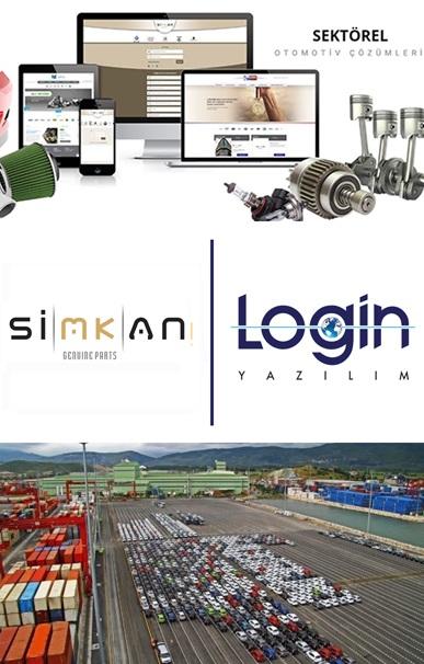 Login Yazılım ve Simkan Teknoloji'nin Dev İş Ortaklığı