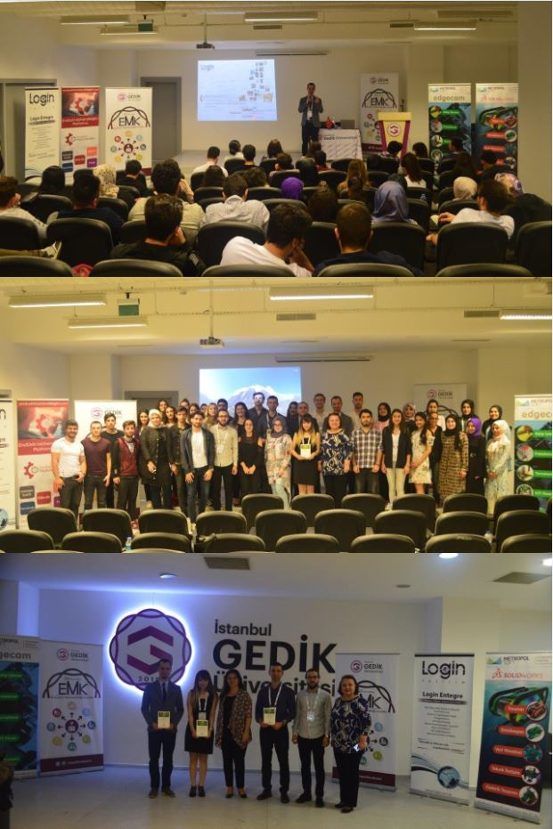 En-ERP 34 has been Launched at The Istanbul Gedik University