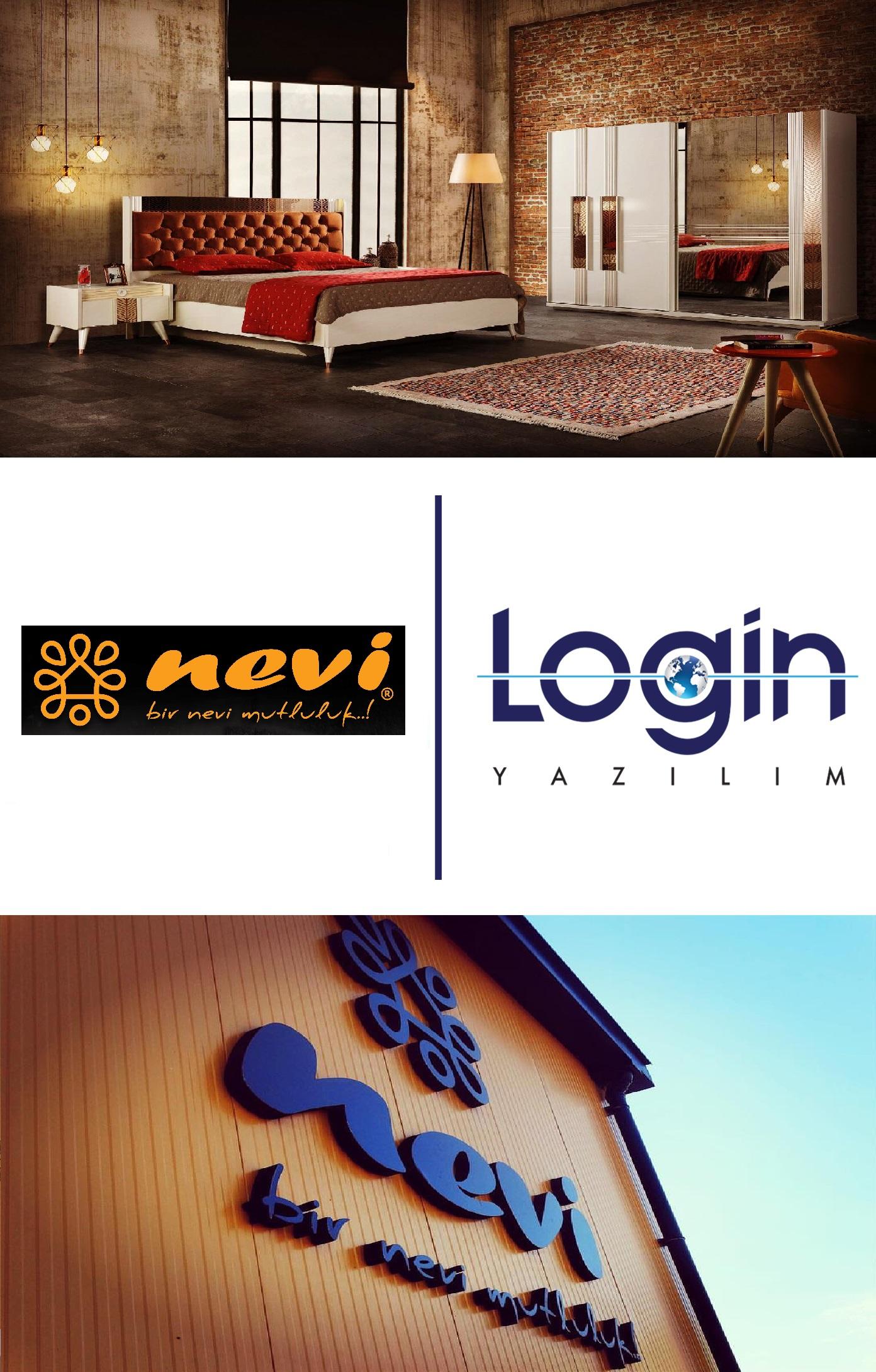 Nevi Mobilya Will Manage All Work Processes via Login ERP