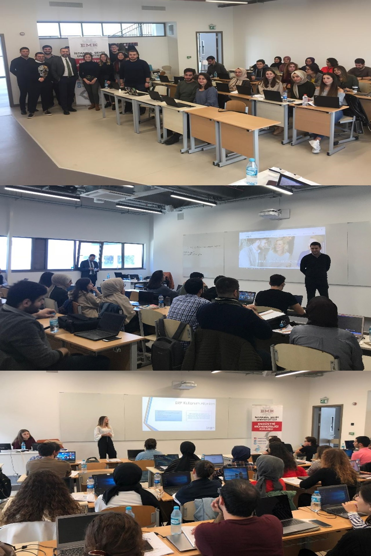 Introduction to ERP Training was Held in Istanbul Şehir University