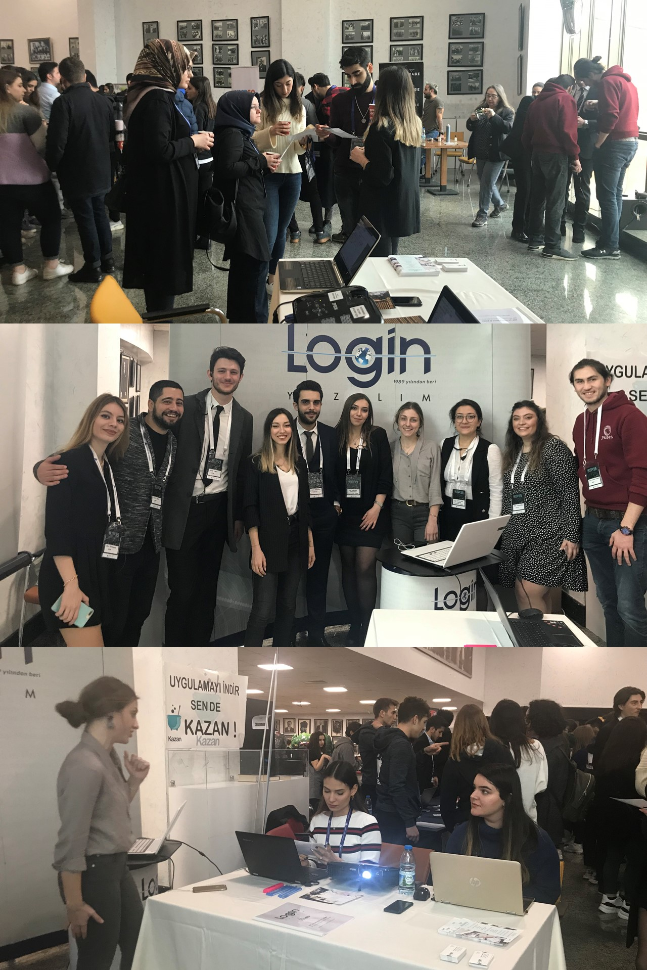 Login Software Has Realized An ERP Simulation in Yeditepe University's YUSES BEYİN'19