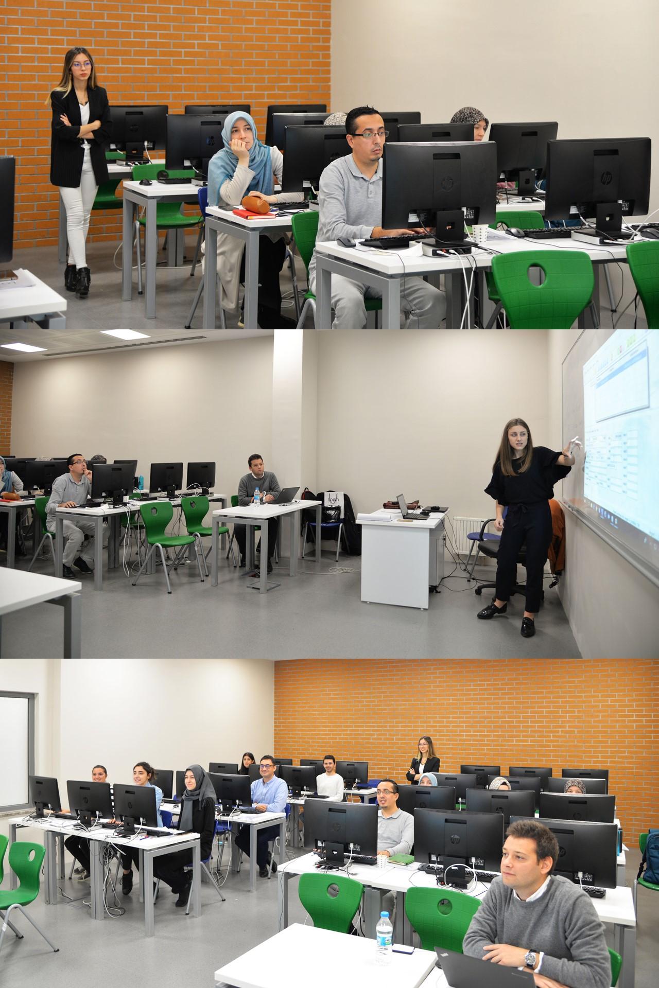 ERP'ye Giriş Eğitimi Türk-Alman Üniversitesi'nde Gerçekleşti