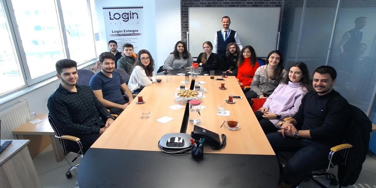 Login Yazılım İstanbul Arel Üniversitesi Öğrencilerini Ağırladı