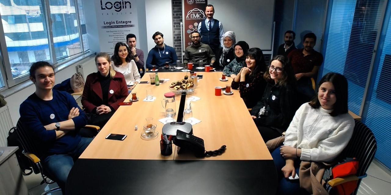 Login Yazılım İstanbul Gedik Üniversitesi Öğrencilerini Ağırladı