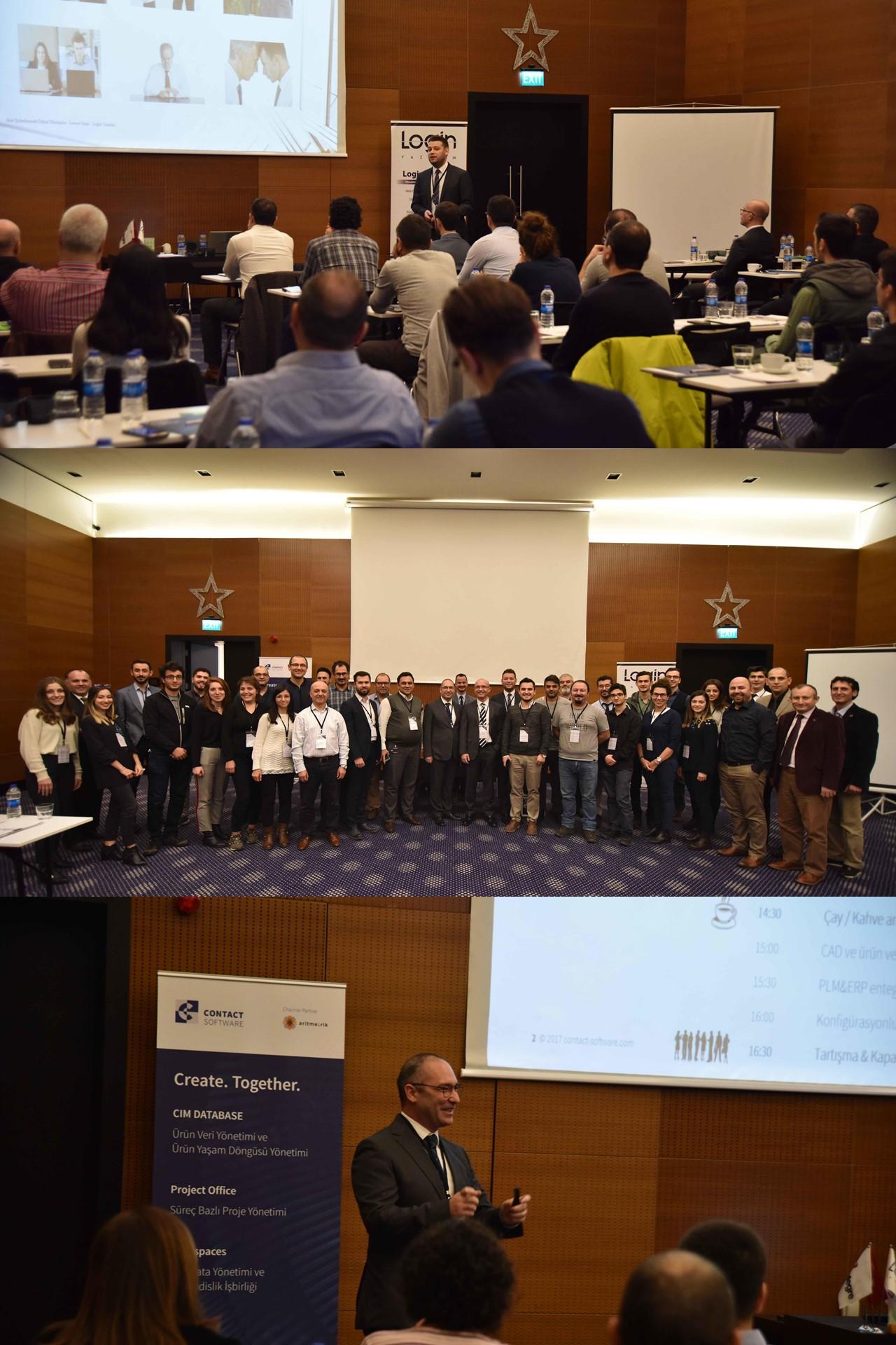Ürün Odaklı Bütünsel Şirket Yönetimi Etkinliği Login Yazılım ve Aritmetrik PLM Ortaklığı ile Workinn Hotel Gebze'de Gerçekleşti