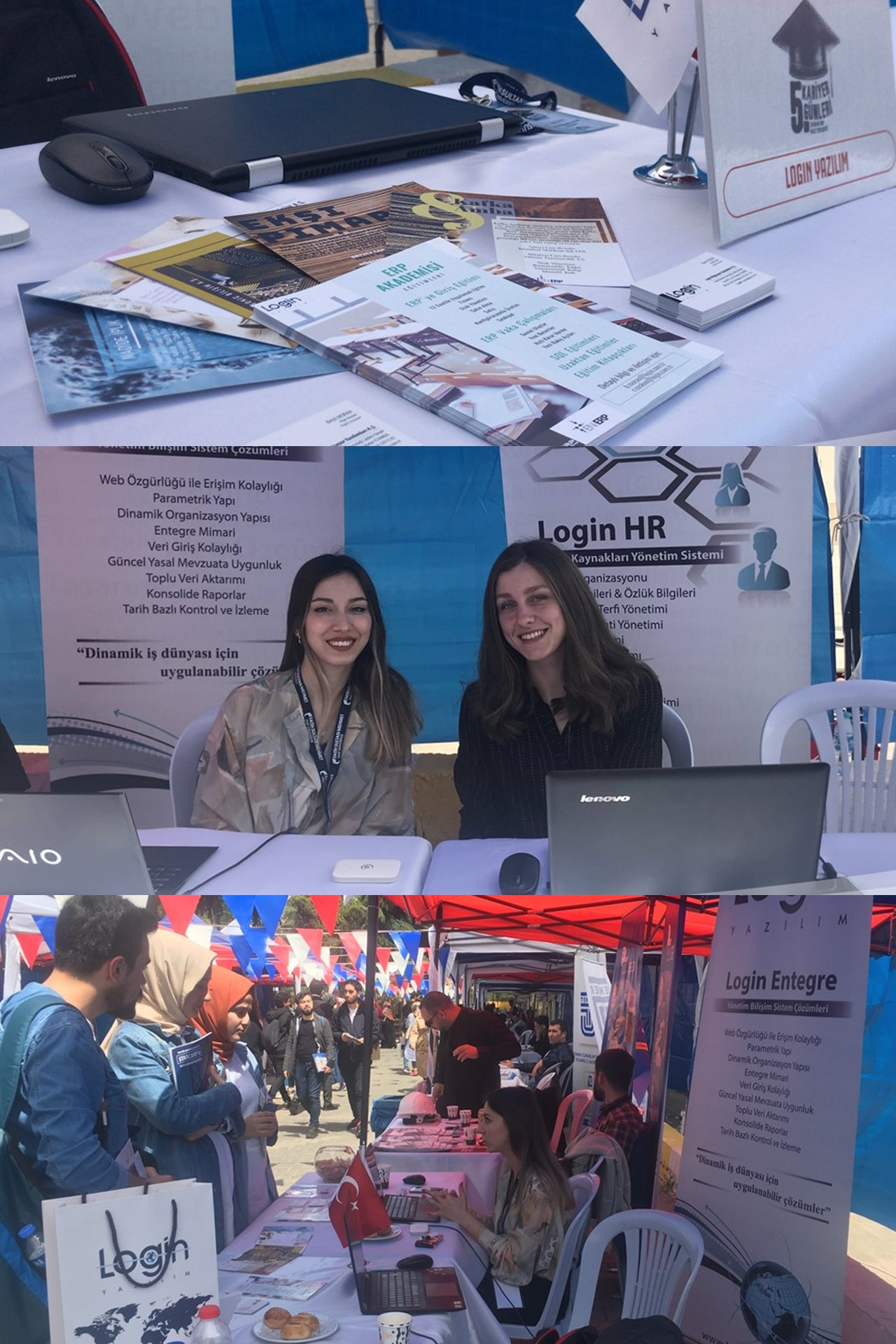 Login Software Attended the 5th Career Days in Fatih Sultan Mehmet Foundation University