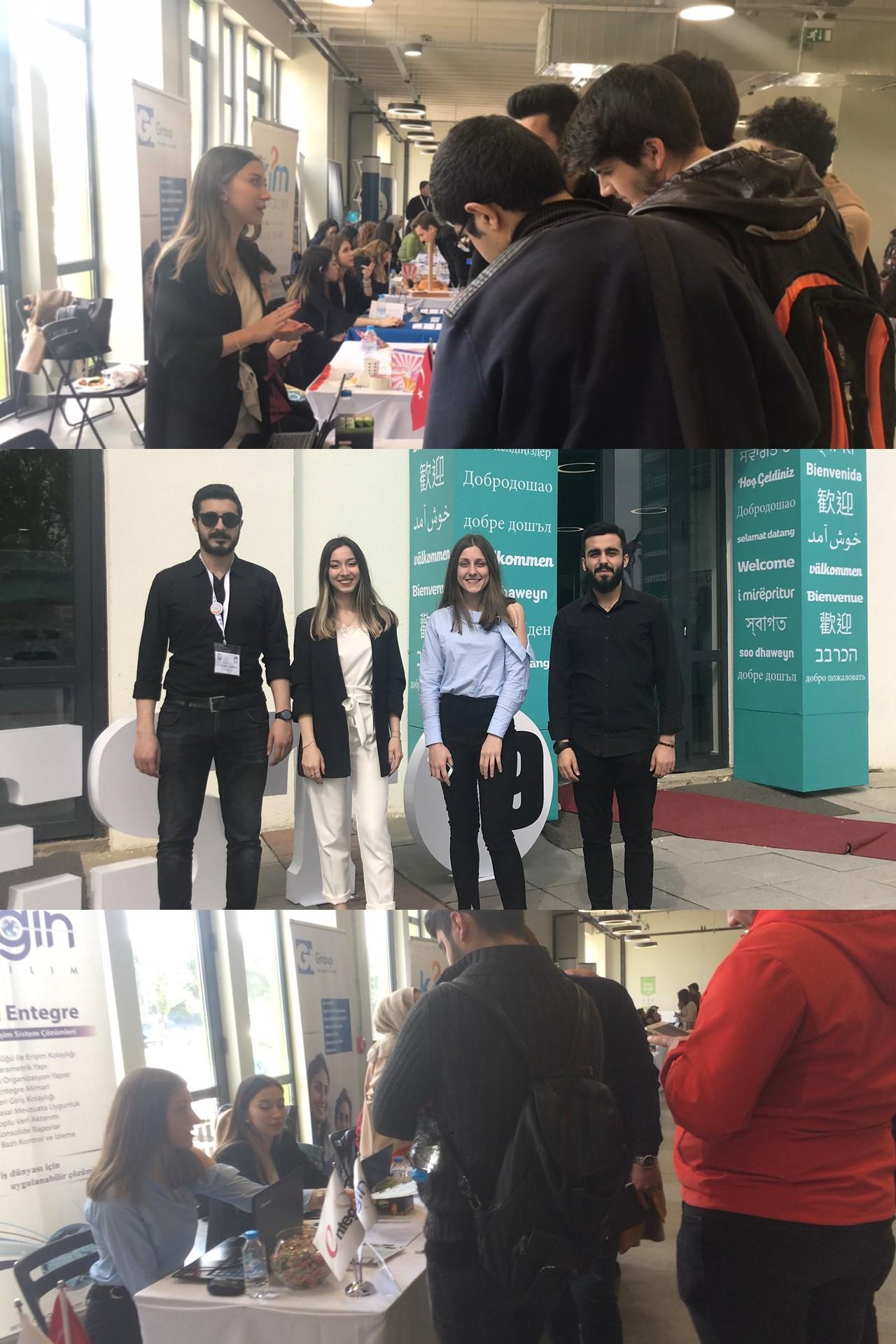 Login Yazılım İstanbul Şehir Üniversitesi Kariyer Festivali'19 Organizasyonundaydı