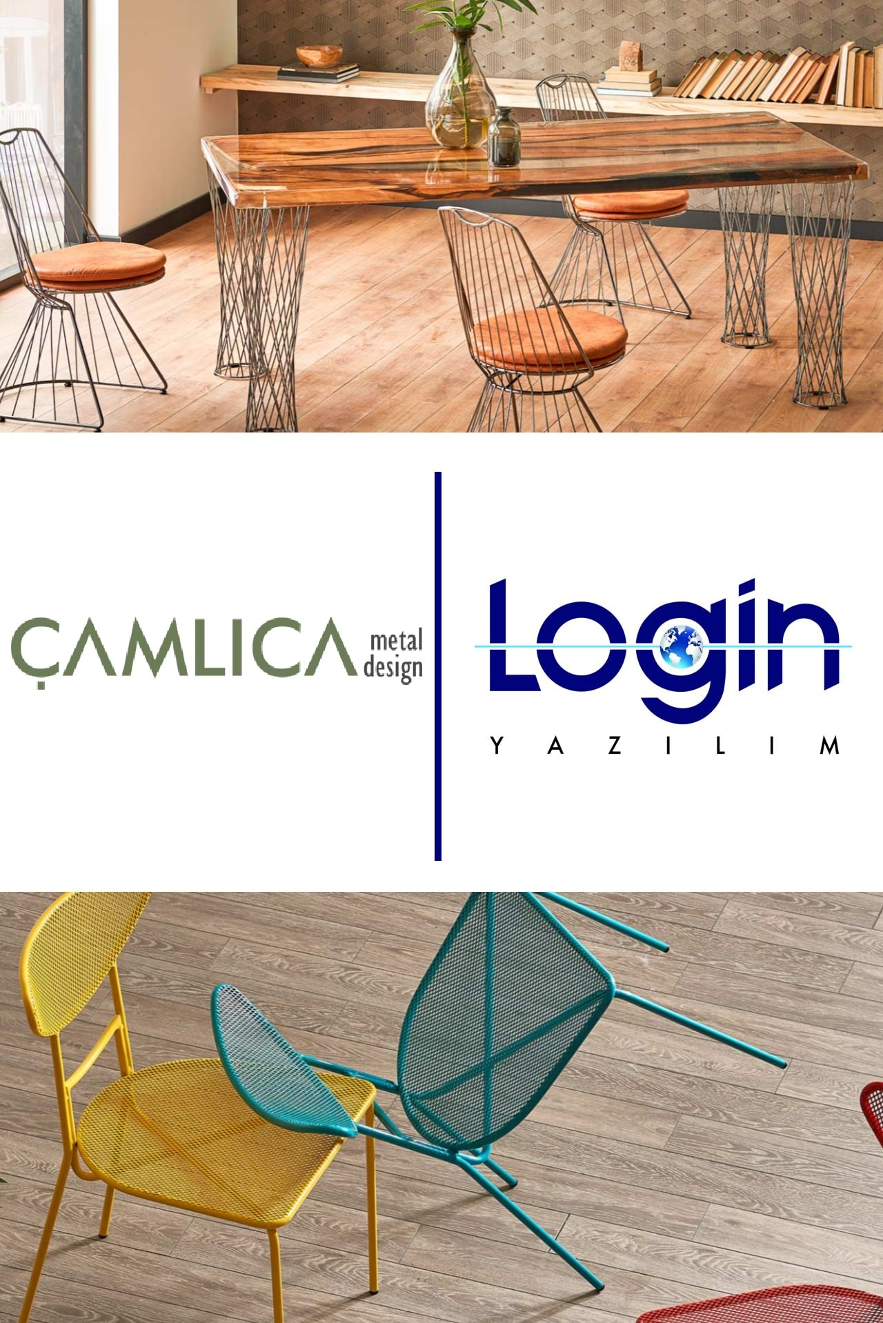 Çamlıca Metal Design also preferred Login ERP