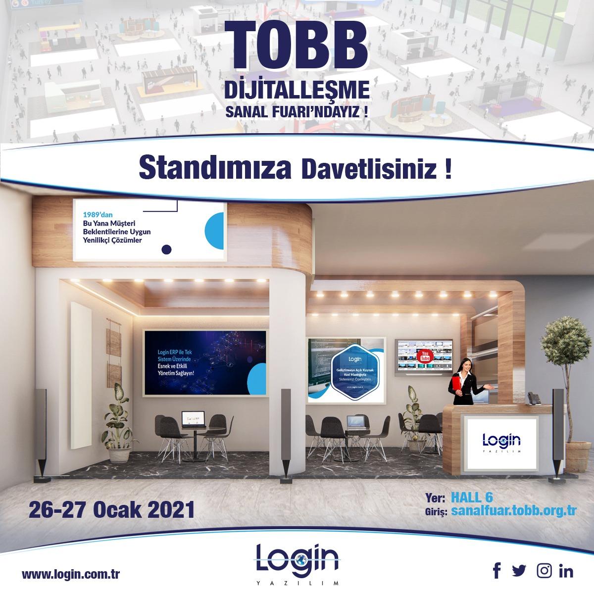 Digitalization Virtual Fair by TOBB