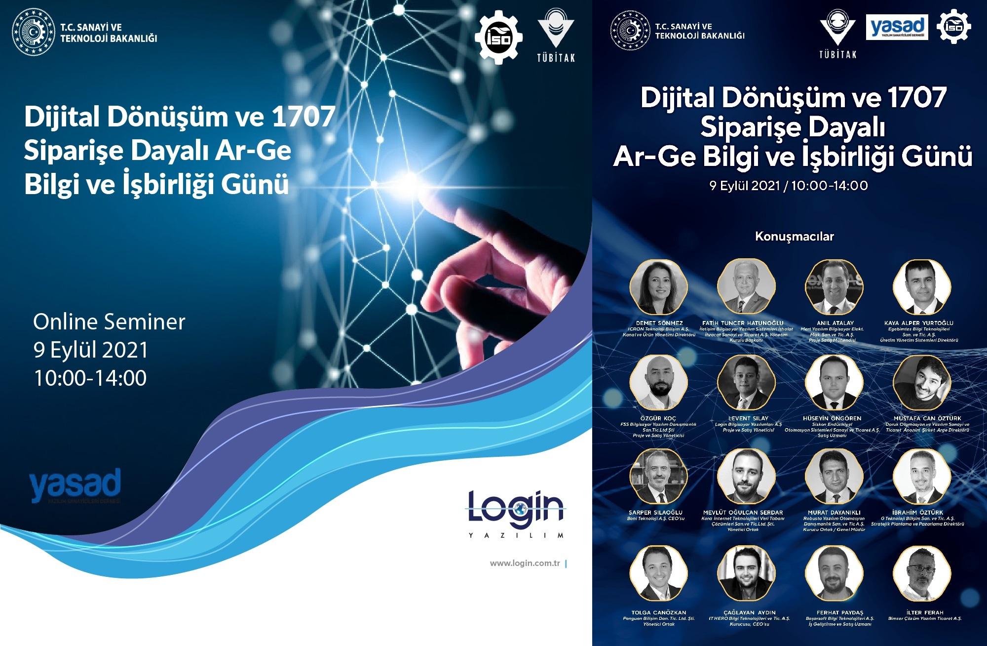 Dijital Dönüşüm ve 1707 Siparişe Dayalı Ar-Ge Bilgi ve İşbirliği Günü